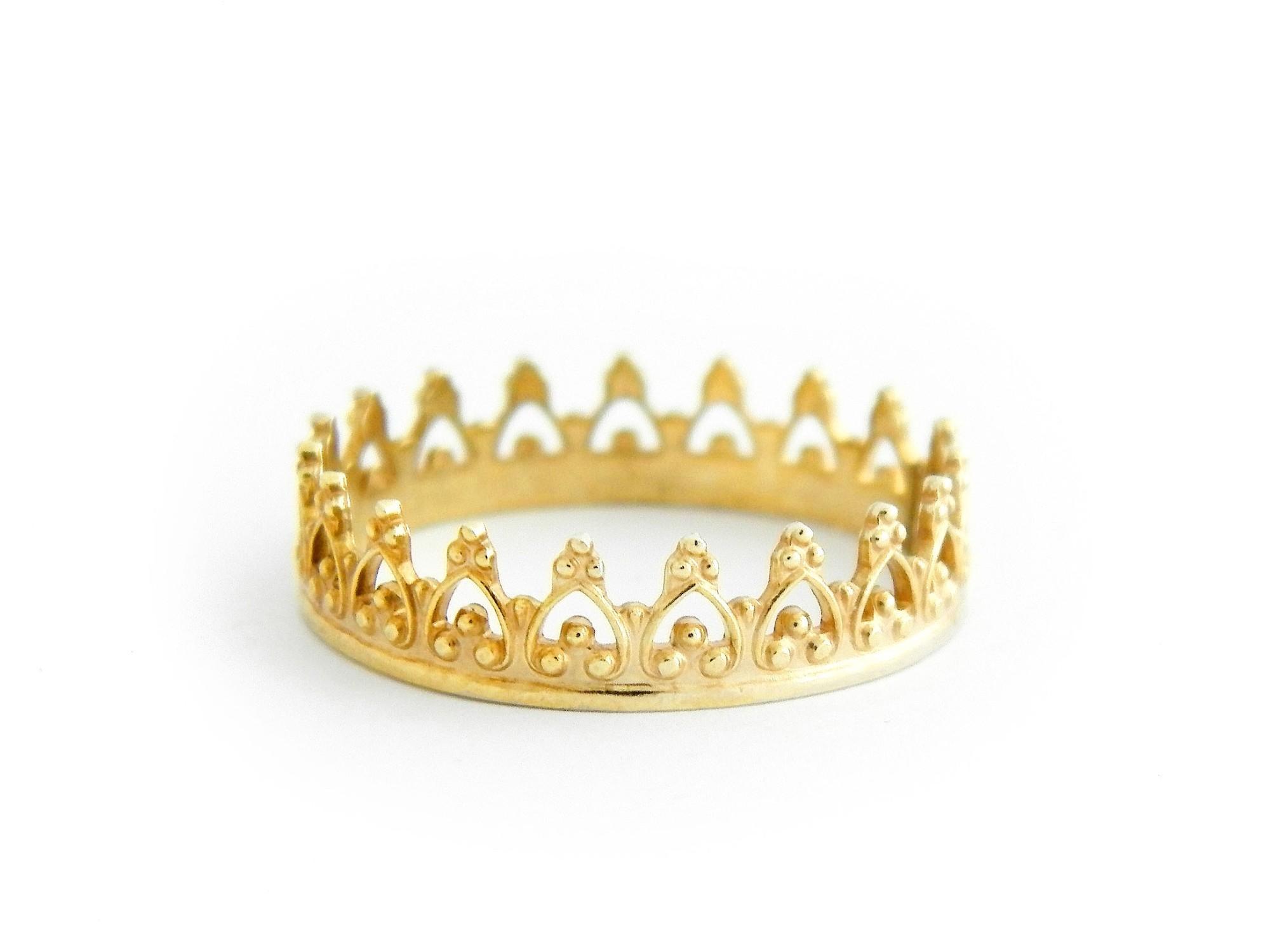 585 zlaty prsten Koruna